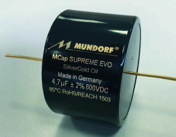 0.15uF Mcap Supreme EVO SilverGold