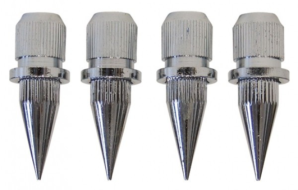 SP15/27 Spikes 4 pcs. chrome