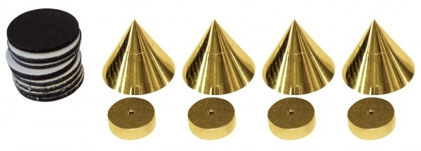SP25/22 Spikes 4 pcs. gold