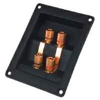 T122/96 MS/Au biwiring terminal